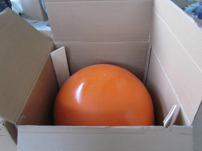 Aerial marker ball