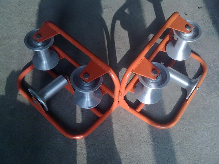 Aluminum Triple Corner Cable Roller