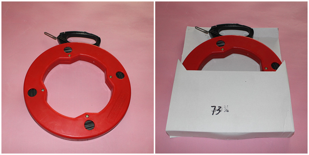 Electrical wire puller fiberglass fish tape steel fish for Fiberglass fish tape